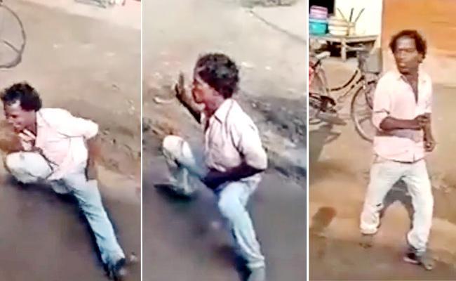 Viral Video: Street Dancer Stunning Steps Like Michael Jackson - Sakshi