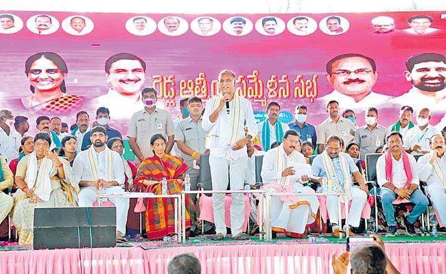 Minister Harish Rao Serious Comments On Etela Rajender - Sakshi
