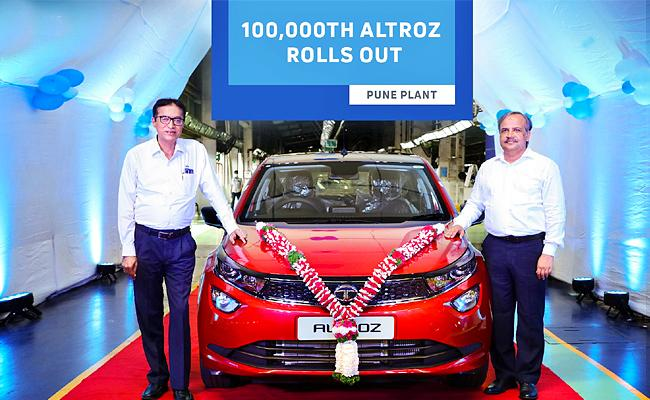 TATA Altroz Sales Crossed One Lakh Mark - Sakshi