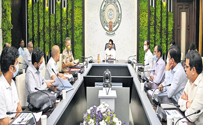 CM YS Jagan High Level Review on Covid Vaccination - Sakshi