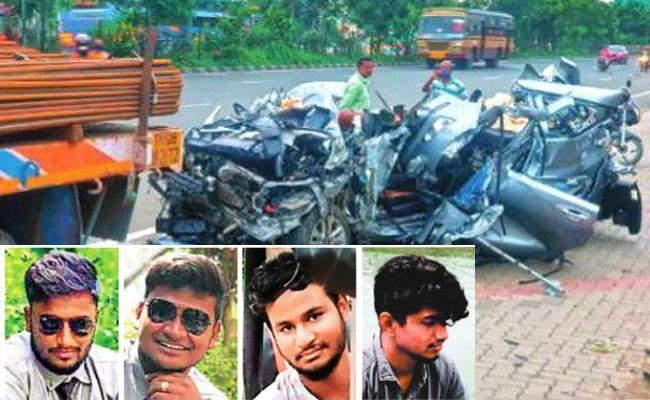5 Young People Succumbs In Car Accident In Chennai - Sakshi