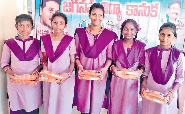 Andhra Pradesh Swecha Scheme Gives Empowerment to Adolescent Girls - Sakshi