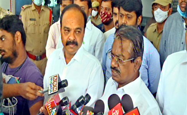 DMK MPs Meet KTR Over NEET Exam Issue - Sakshi