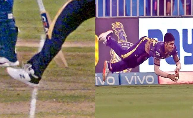 IPL 2021: Shubman Gill Stunning Catch But Umpire Given No Ball KKR Vs DC - Sakshi