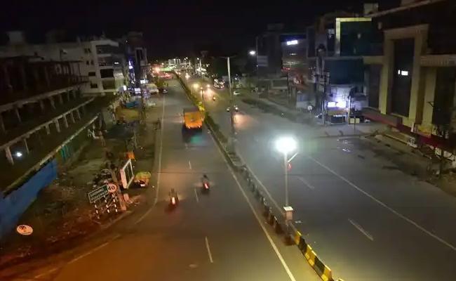 AP Government Extends Night Curfew Till 31st October - Sakshi