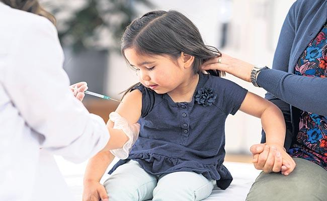Vaccine one step away from use in India for 2-18 age group after expert panel nod - Sakshi