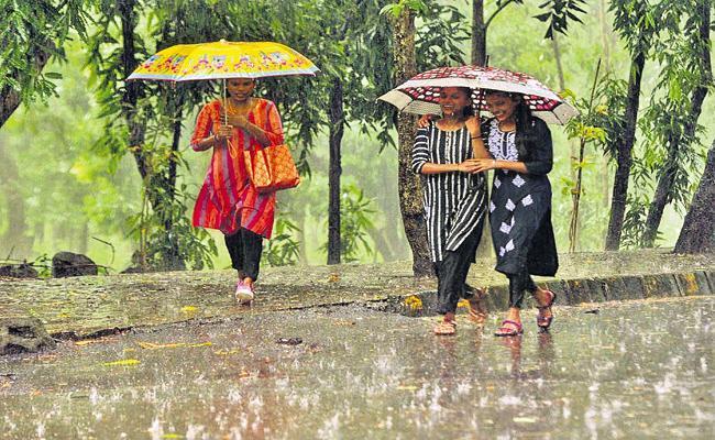 Rain forecast for two days in Andhra Pradesh - Sakshi