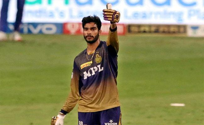 IPL 2021: Venkatesh Iyer Reacts Happy Moment After Match Winning Vs DC - Sakshi