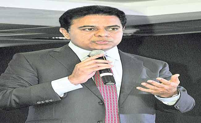 France Invites To It Minister KTR To Attend Ambition India Business Forum - Sakshi