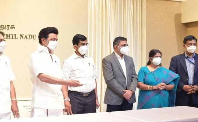 Tamil Nadu CM Stalin Launches Scheme to Melt Temple Jewellery - Sakshi