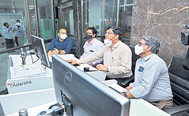 Bhadradri Thermal Power Plant Fourth Unit Synchronization Success - Sakshi