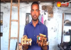 Handloom worker amazing skill - Sakshi
