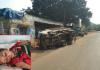 child dead in road accident - Sakshi