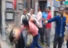 Young people attack on a woman in Bengal - Sakshi