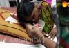 Unknown Assaliants Attack Dealer Wife - Sakshi