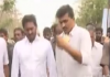 electricity contract employees met ys jagan mohan reddy - Sakshi