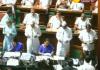 K'taka floor test: CM BS Yeddyurappa, Siddaramaiah take oath as MLAs - Sakshi