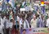 Pilli Subhash Chandra Bose supports farmers in mandapeta - Sakshi