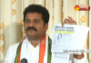 Revanth reddy press meet in clp office - Sakshi