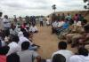Villagers fight For Water In Nizamabad - Sakshi
