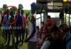 13 students injured in road accident - Sakshi