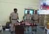 Nizamabad Police Attack On Belt Shop - Sakshi