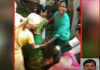 tdp leader attack woman lecturer in chittoor district - Sakshi