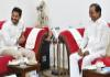 YS Jagan, KCR Meeting at Pragati Bhavan - Sakshi