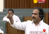 Kanna Babu Fires on TDP Members in Assembly