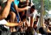 Road Accident: School Bus Hits A Tree In Dichpalli - Sakshi
