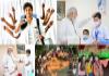 100 Crore Vaccination in India - Sakshi