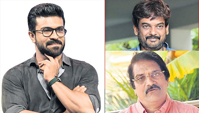 Ram charan again movie with Puri Jagannadh