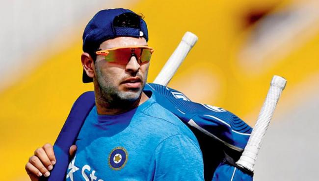Yuvraj Singh chooses Yo Yo test preparation at NCA over Ranji Trophy - Sakshi