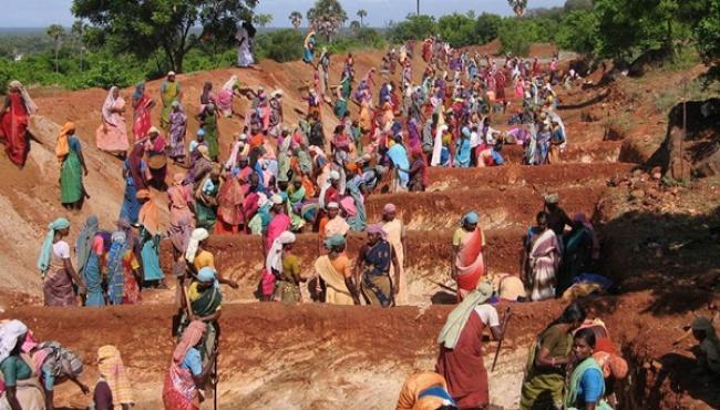 Telugu Leaders Corruption in NREGA funds - Sakshi