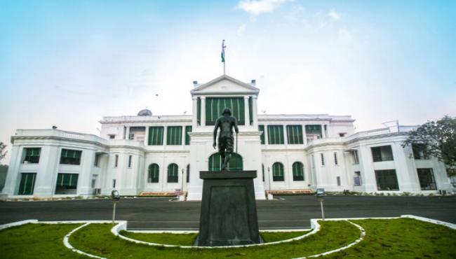 raj bhavan clarity on governor banwarilal purohit - Sakshi