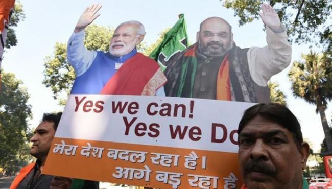 BJP Sweeps Himachal Pradesh - Sakshi